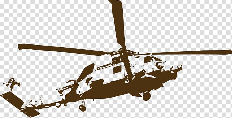 Helicopter Wall decal Sticker Bell UH.