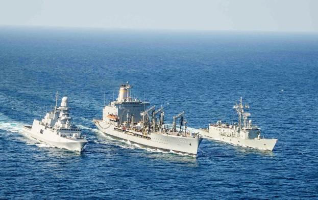 USNS Laramie Supports Operation Atalanta.