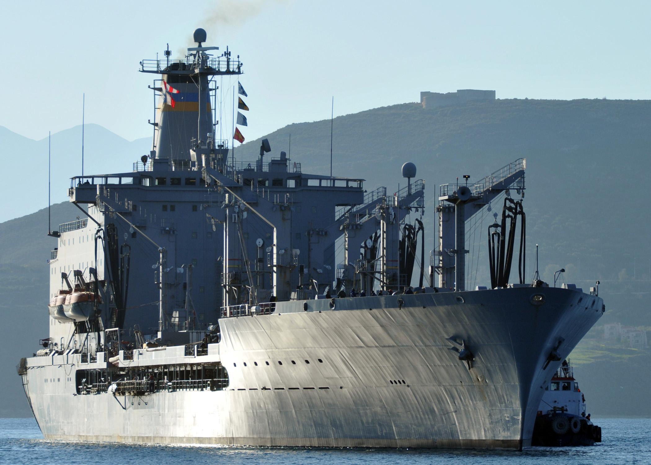 Fleet Oiler (AO) Photo Index.