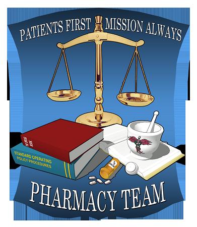 USNS Mercy Pharmacy Team Shirt.