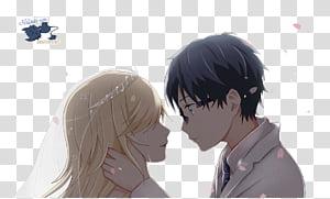 Kaori y Kousei Shigatsu wa Kimi no uso transparent.