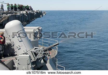 Stock Photo of A MK 15 Phalanx close.