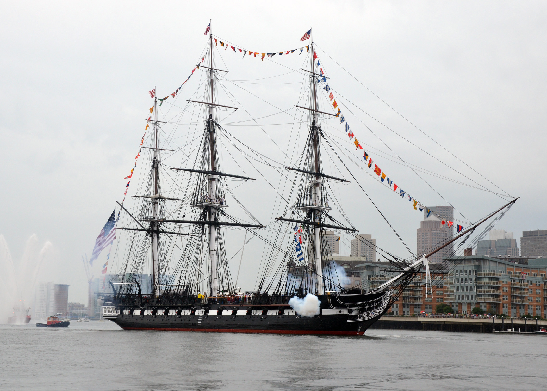 USS Constitution.