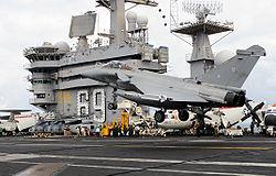 USS Dwight D. Eisenhower.