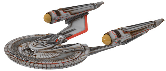 The Trek Collective: Keepsake USS Franklin coming, and other.