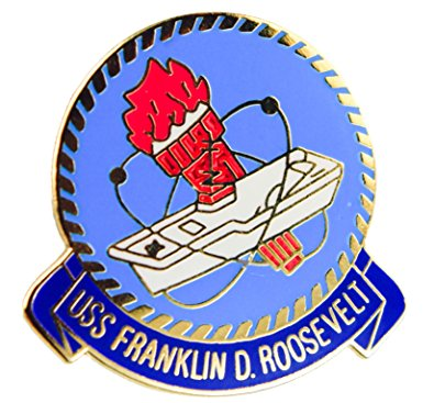 Amazon.com: USS Franklin Roosevelt US Navy Hat or Lapel Pin.