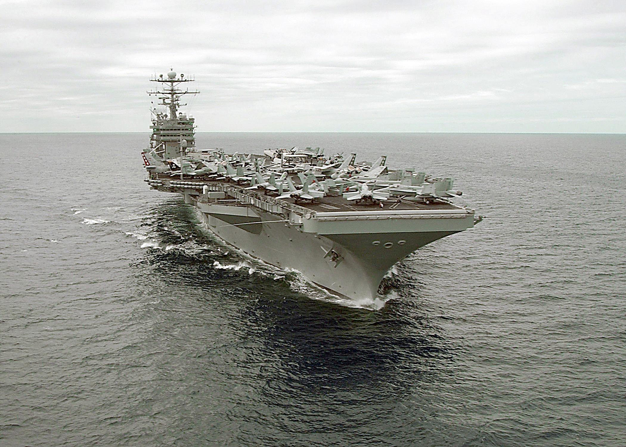 Uss George Washington (cvn 73) At Sea..