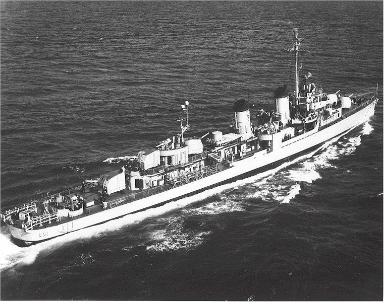 USS Kidd DD.