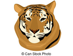 Gallery For > Red Tiger Clipart.