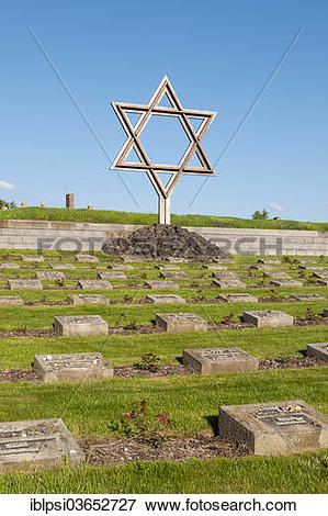 "Picture of ""Star of David at the Jewish Cemetery, Small Fortress."