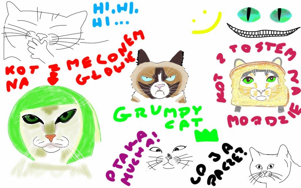 takie tam kotki z memw :) by kiciuszka on DeviantArt.