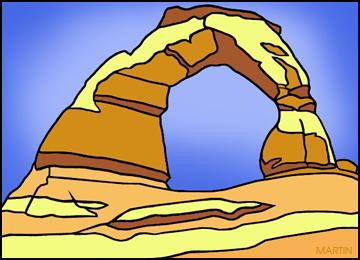 Free Utah Clip Art by Phillip Martin.