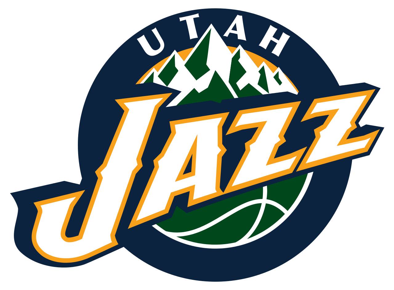 Utah Jazz Logo transparent PNG.