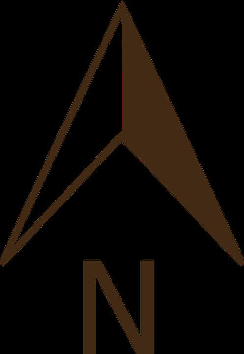 Kompas utara png 3 » PNG Image.