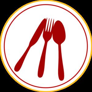 Food utensils clipart.
