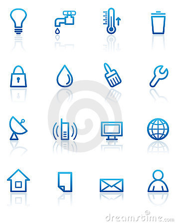 Utilities Stock Illustrations.
