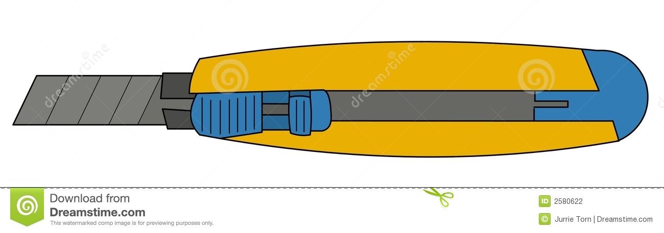 Utility Knife Stock Illustrations.