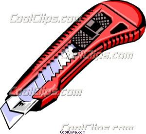 Utility Knife Clip Art.
