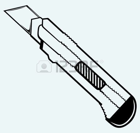 1,552 Utility Knife Stock Vector Illustration And Royalty Free.