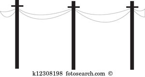 Wire telephone Clipart Royalty Free. 911 wire telephone clip art.