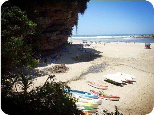 Uvongo Beach Natal.