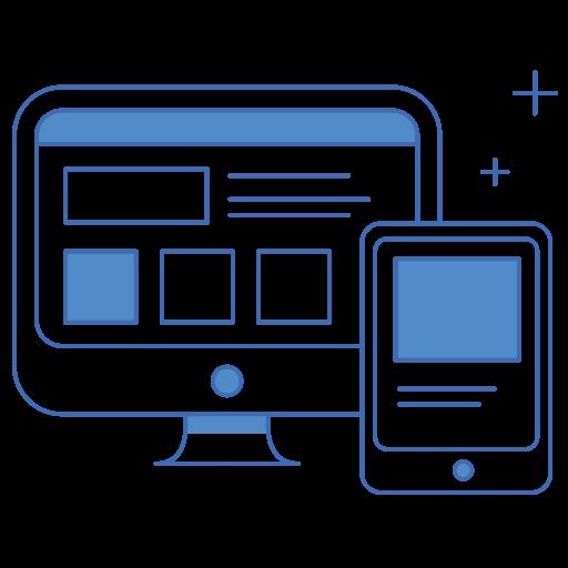 Design, ui, ux, web, web design icon.