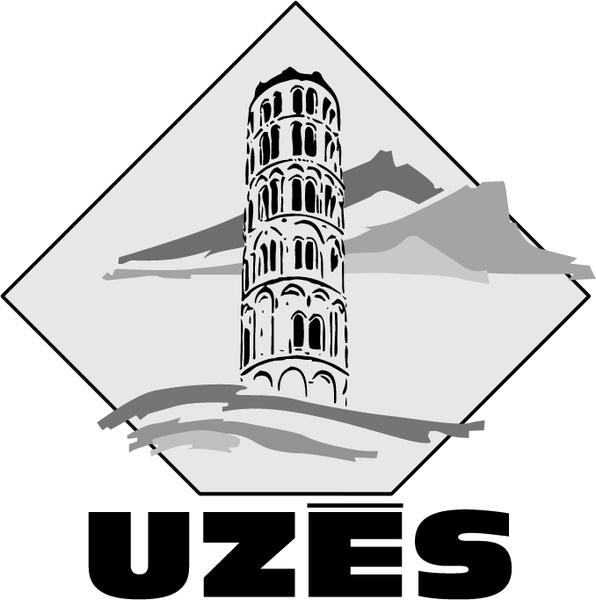 Ville de uzes 0 Free vector in Encapsulated PostScript eps ( .eps.