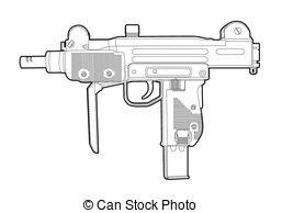 Uzi Vector Clipart Illustrations. 105 Uzi clip art vector EPS.