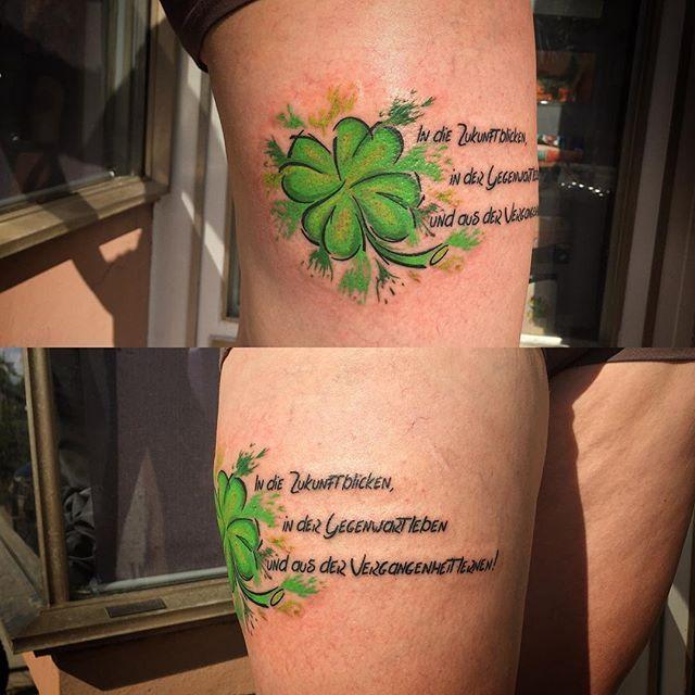 Több mint 1000 ötlet a következővel kapcsolatban: Kleeblatt Tattoo.
