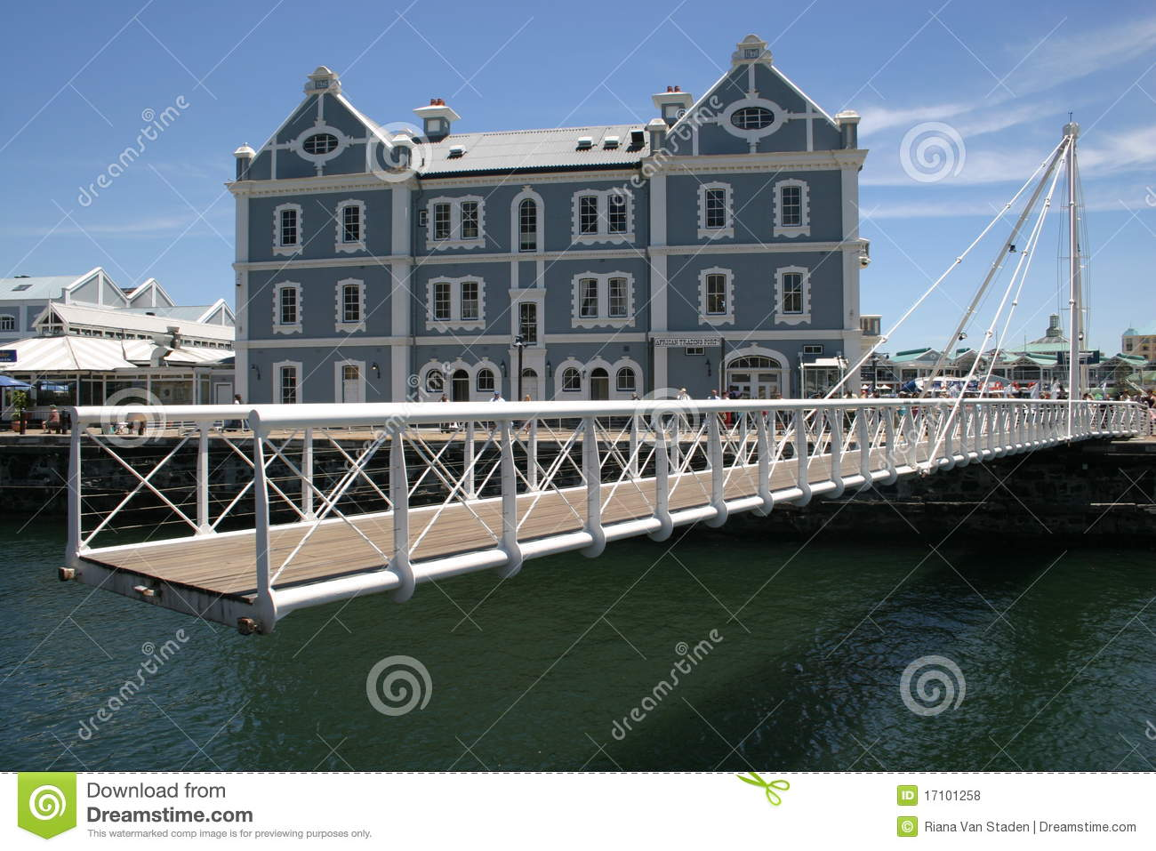 Waterfront Cape Town Royalty Free Stock Photos.