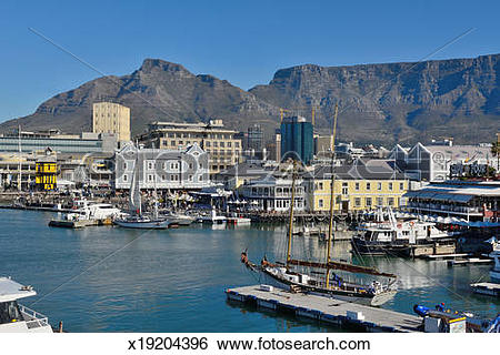Stock Images of V&A Waterfront Cape Town x19204396.