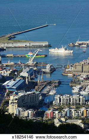 Stock Images of Cape Towm V&A Waterfront x18254146.