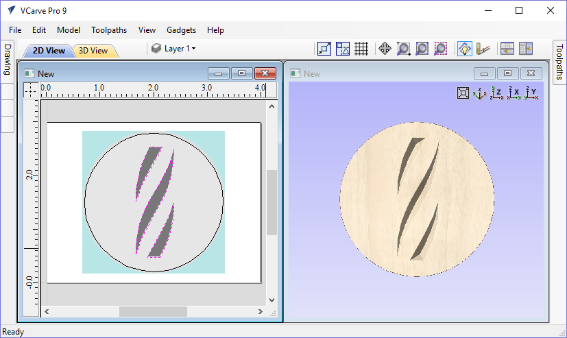 Latest Software Versions: Download Vectric Vcarve PRO 9.5.