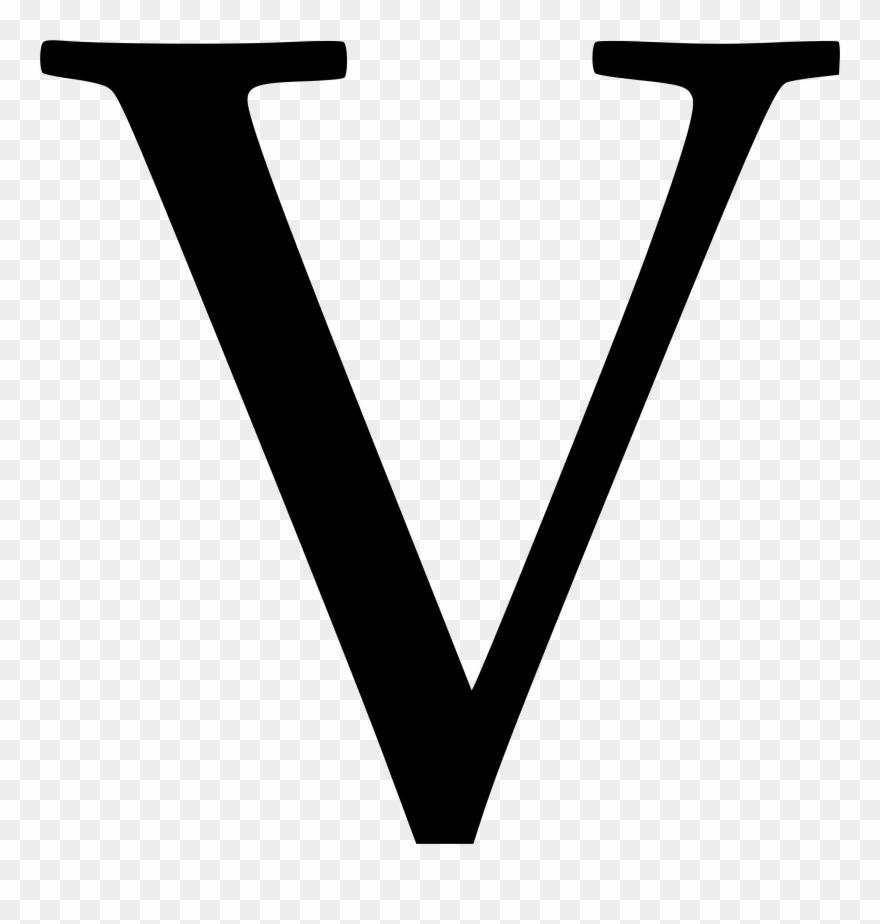 Cyrillic Letter V Png Images Clipart (#246075).
