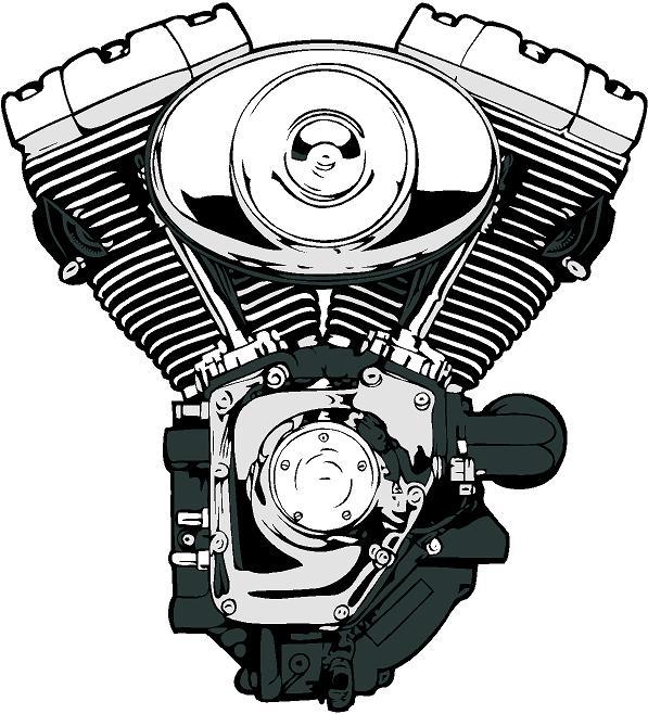 V engine clipart - Clipground