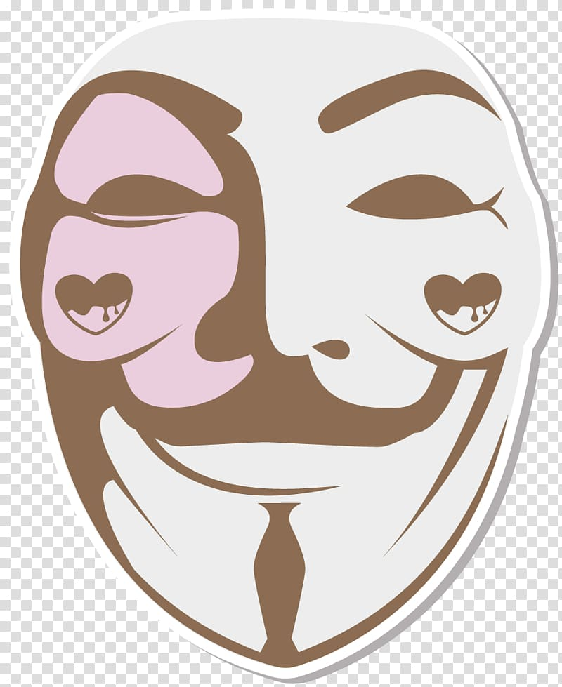 V for Vendetta Guy Fawkes mask Stencil Drawing, v for.