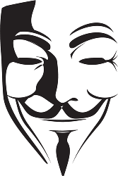 V for vendetta clipart.