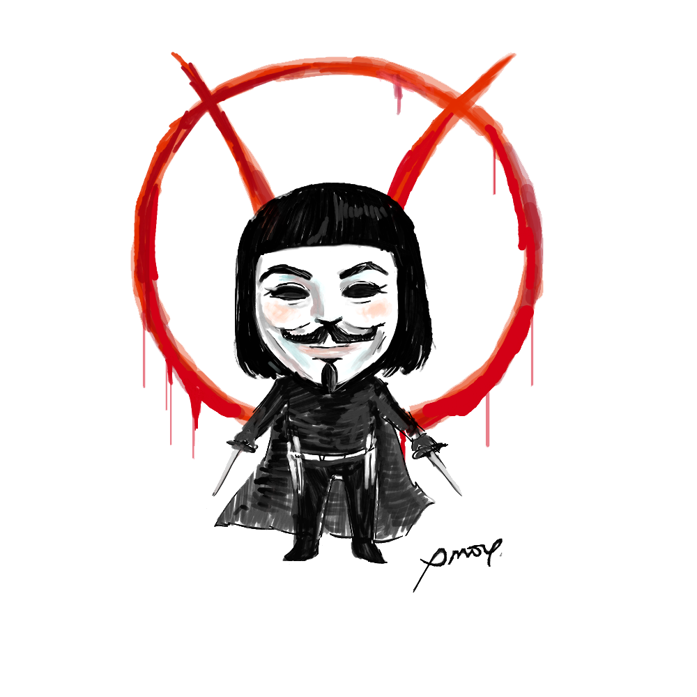 V for Vendetta PNG Images Transparent Free Download.