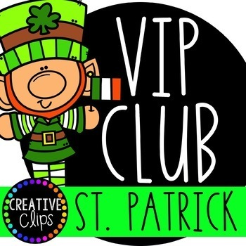 ST. PATRICK\'S DAY VIP Club ($19.00 Value) {St Patrick\'s Day Clipart}.