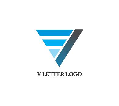 Letter v logo design download.