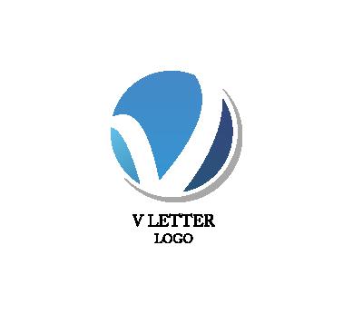 11 V Logo Design Images.