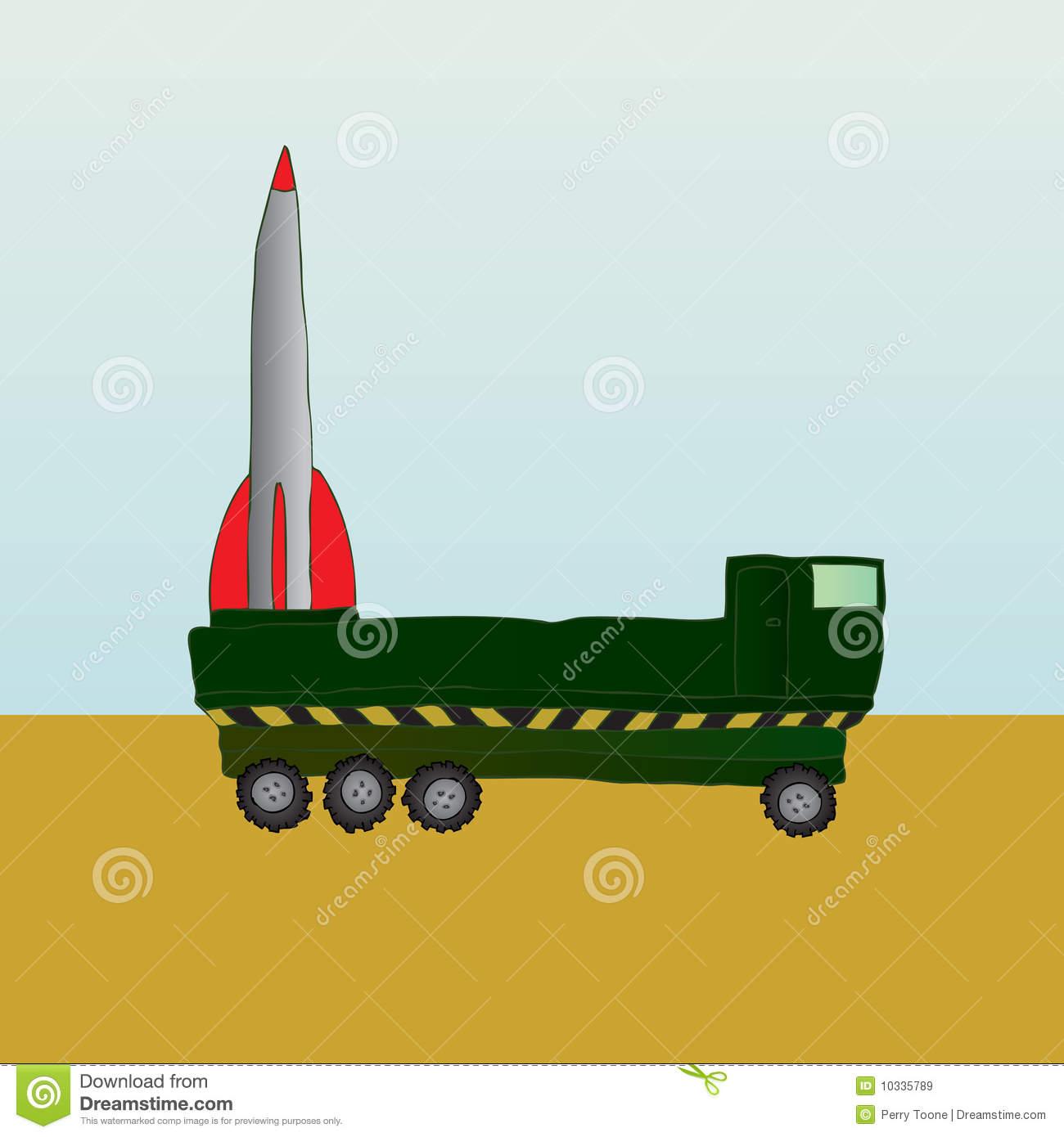 V2 Rocket Royalty Free Stock Images.