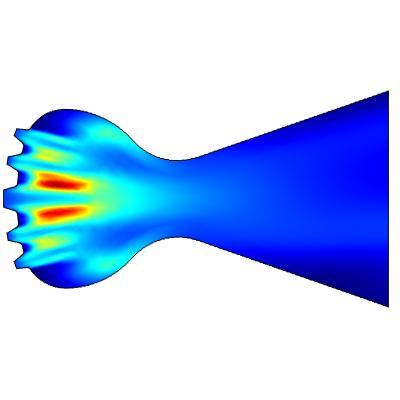V2 Rocket Engine.
