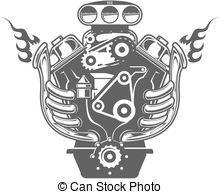 V8 engine clipart 1 » Clipart Portal.