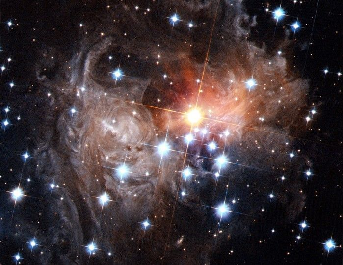 V838 Monocerotis is a red variable star in the constellation.