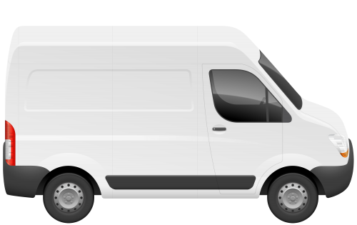 Van PNG Clip Art.