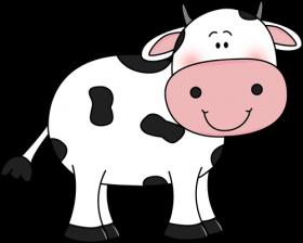 Download vaca dibujo png.