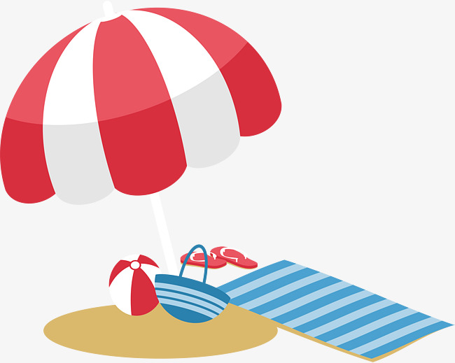 Download Free png Seaside Holiday, Vector Png, On Vacation.