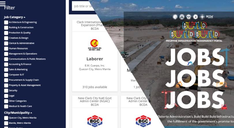 100,000 jobs up for grabs in PH\'s \'Jobs, Jobs, Jobs\' online.