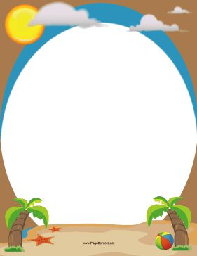Free Beach Cliparts Borders, Download Free Clip Art, Free.